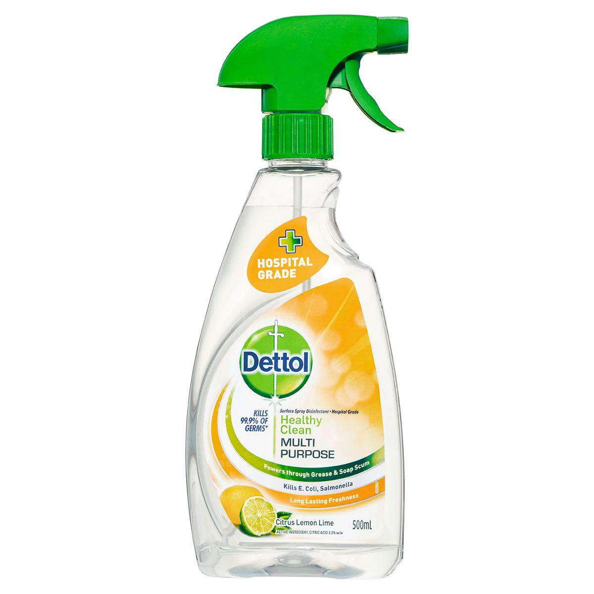 Dettol Healthy Clean Multipurpose Trigger Lemon & Lime 500ml