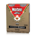 MORTEIN  KILL & PROTECT FLEA BOMB TWIN PACK