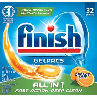 Finish All in 1 Gelpacs