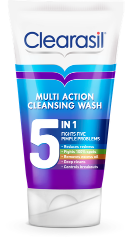Clearasil® Multi Action 5 In 1 Cleansing Wash