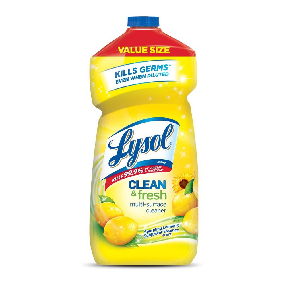 Lysol Multi Surface Cleaner Lysol All Purpose Cleaner
