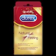 Durex Natural Feeling, 10 Kondome