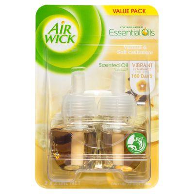 Air Wick Scented Oil Plug in Twin Refill Vanilla & Soft