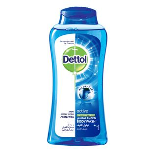 Dettol Anti-Bacterial Body Wash Active 250ml