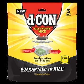 d-CON® Disposable Corner Fit Bait Stations