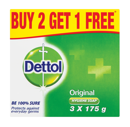 Dettol hygiene soap original  3x 175G