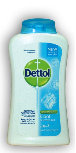 Dettol Cool Antibacterial pH-Balanced Body Wash 250ml