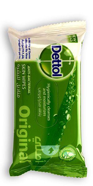 Dettol Hygiene Personal Care Wipes Original 10s