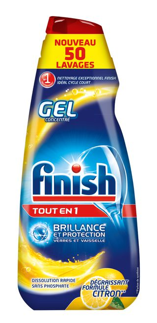 Finish Gel Tout en 1 Max* Citron