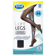 Scholl Medium Light Legs Compression Tights 20 Den Black