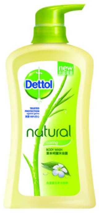 Dettol Natural Antibacterial Body Wash Nourishing