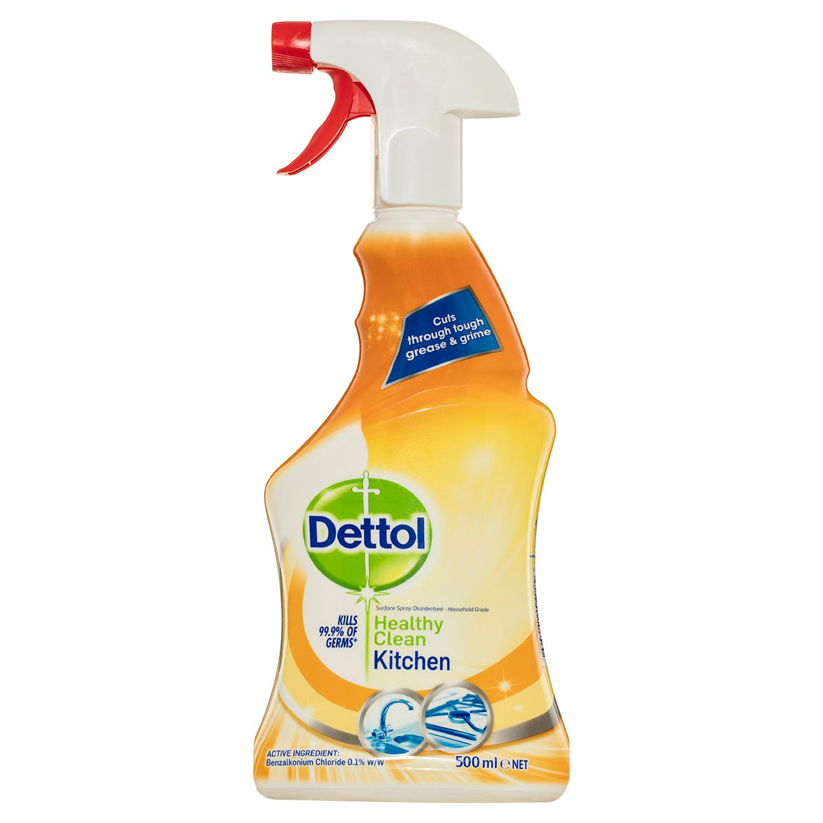 Kitchen Cleaning: Dettol Healthy Clean Kitchen Spray 500mL