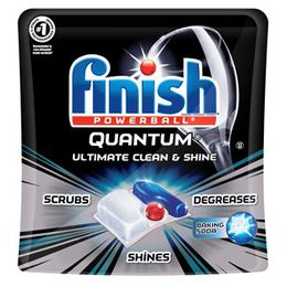 Finish Quantum with Baking Soda