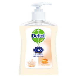 Dettol Hand Wash with E45 Softness - Honey