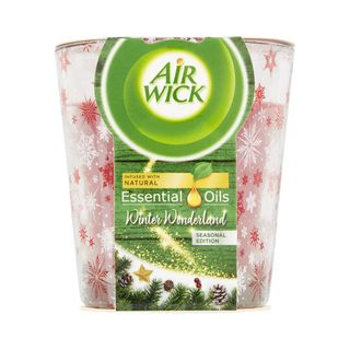 Air Wick Essential Oil Infusion Candle - Winter Wonderland