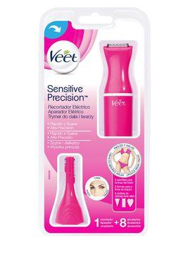 Sensitive Precision - Recortador Eléctrico de pelo, 8 accesorios, color Rosa