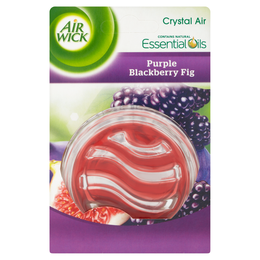 AIR WICK ESSENTIAL OIL CRYSTAL - PURPLE BLACKBERRY FIG