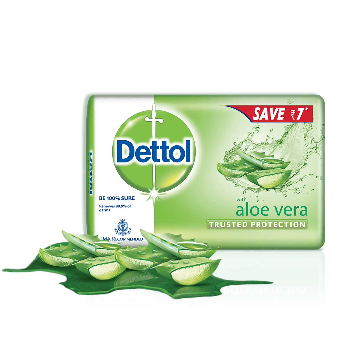 Dettol Aloe Bar Soap