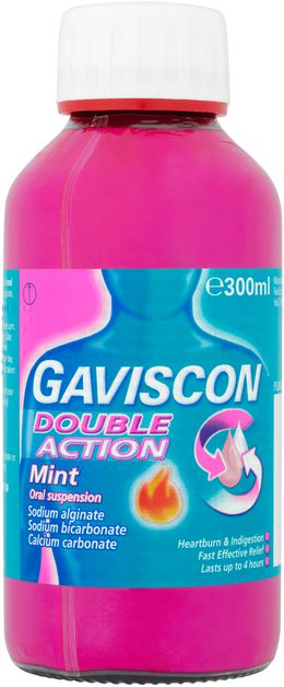 Gaviscon Double Action Liquids Mint 300ml