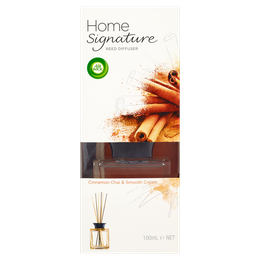 Air Wick Home Signature Reed Diffuser - Cinnamon Chai & Smooth Cream