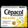 Cepacol sensations miel et citron