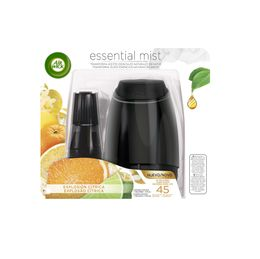 AIR WICK ESSENTIAL MIST KIT APARATO Y EXPLOSION CITRICA