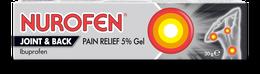 NUROFEN JOINT & BACK 5% PAIN RELIEF GEL