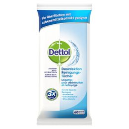 Dettol Desinfektion Reinigungs-Tücher  Lingettes pour désinfection et nettoyage
