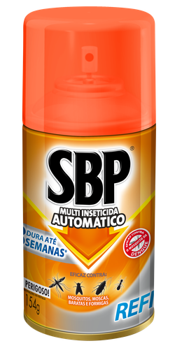 Automático Multi-Inseticida Refil Regular 250ml