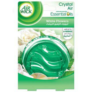 White Flowers Crystal Air Gel