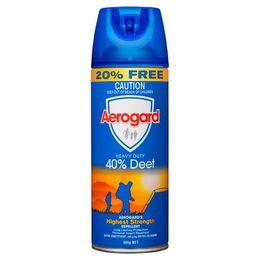 Aerogard超强长效型(含40%避蚊胺)气雾剂300克