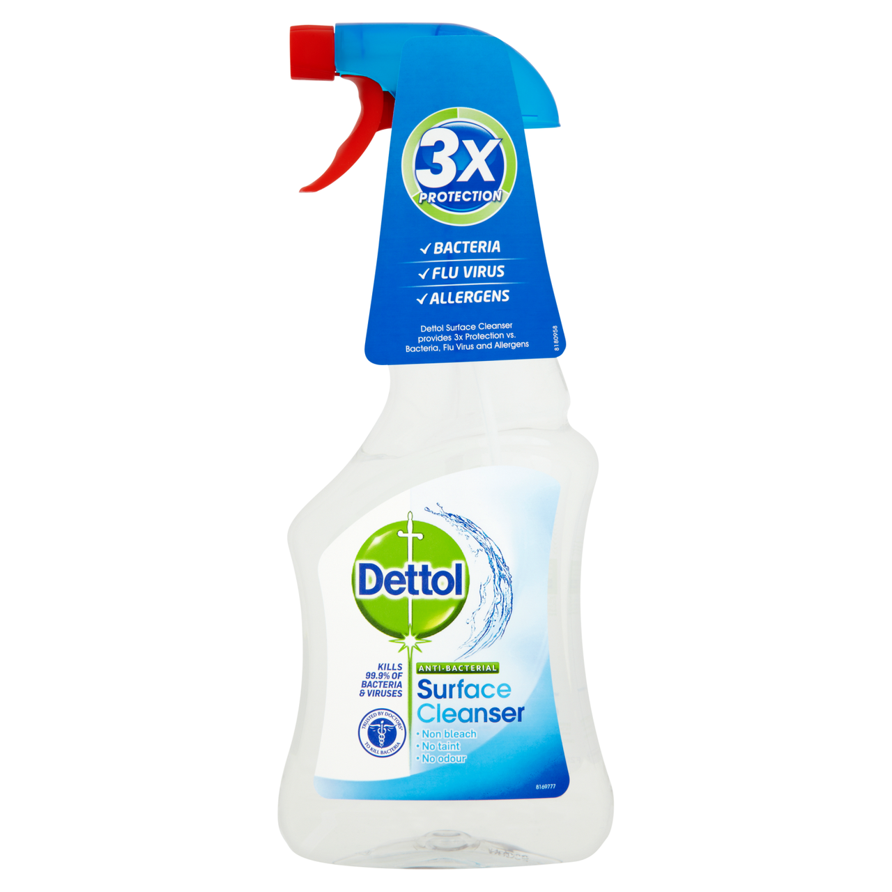 Antibacterial Surface Cleanser   Bleach Free   Dettol