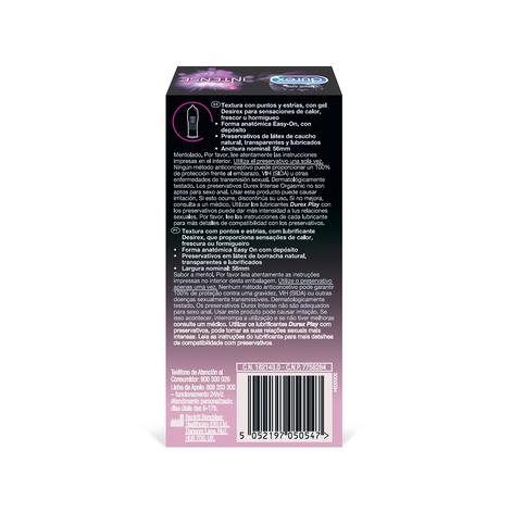Durex Intense Orgasmic Preservativo