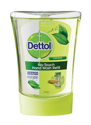 Dettol no touch handwash green tea