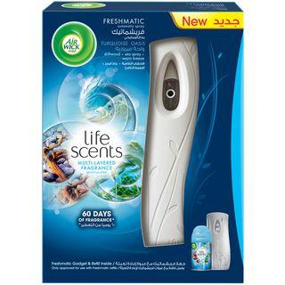 Life Scents™ Turquoise Oasis Freshmatic® Starter Kit