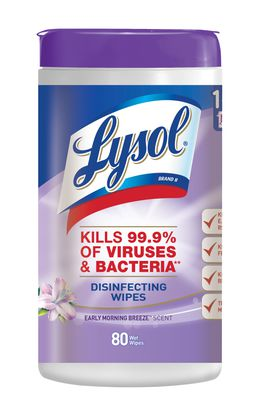 Lysol® Disinfecting Wipes - Early Morning Breeze™