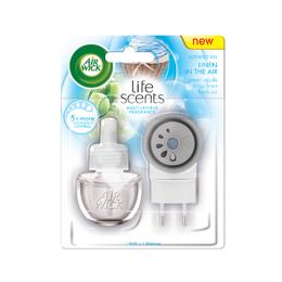 Elektrický osviežovač vzduchu - strojček & náplň - Prádlo vo vánku
