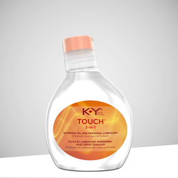 K-Y TOUCH® 2-in-1 WARMING® Oil and Personal Lubricant