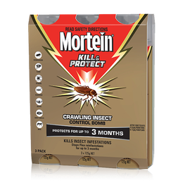 MORTEIN  KILL & PROTECT CONTROL BOMB