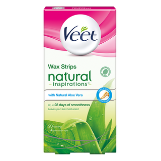 Veet® Natural Inspirations Wax Strips with Aloe Vera