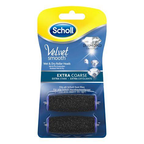 Scholl Velvet Smooth™ Nachfüller Wet&Dry - Extra Stark mit Diamantpartikeln