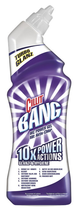 Cillit Bang WC Power Gel Glanz&Hygiene