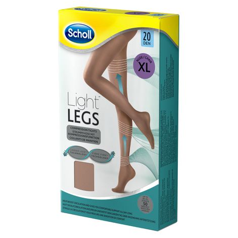 Scholl Light Legs™ Strumpfhose mit Kompressionsfunktion 20 DEN Nude XL