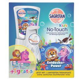 Sagrotan Kids No-Touch Automatische Box Sonderedition mit Tieraufsatz