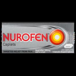 NurofenCaplets 200mg 24s