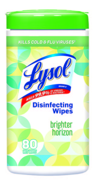 LYSOL® Disinfecting Wipes - Brighter Horizon