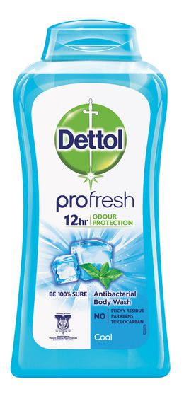 Dettol Cool Antibacterial pH-Balanced Body Wash