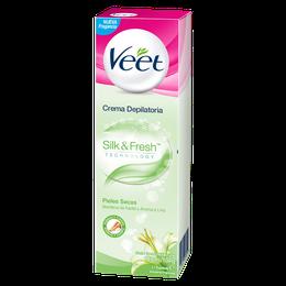 Veet Crema Depilatoria Corporal Silk&Fresh Pieles Secas