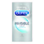 Durex Invisible Extra Thin Extra Sensitive Condoms 12 Pack