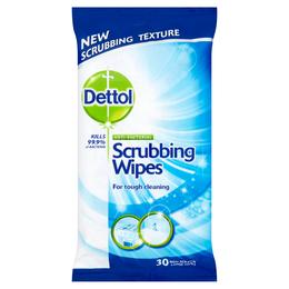 Dettol Antibacterial Scrubbing Wipes